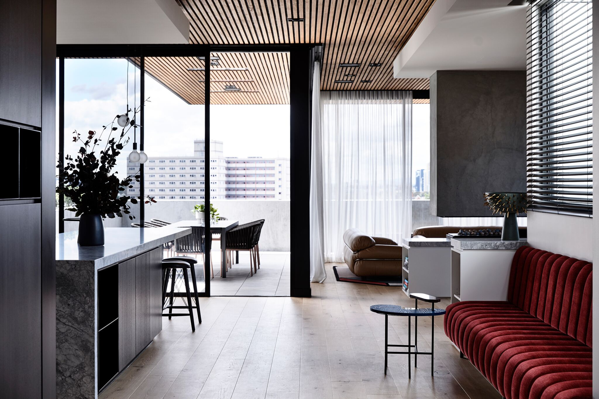 Gallery Of Holly Penthouse By Tom Robertson Architects Local Australian Bespoke Architecture & Interiors Melbourne, Vic Image 11