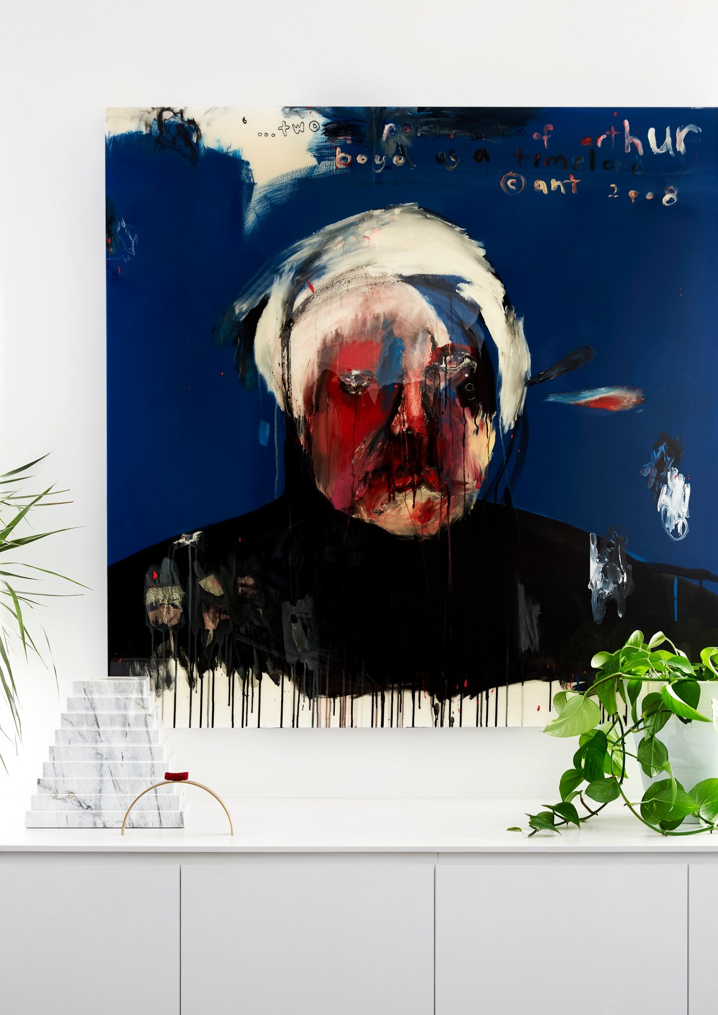 Interior Styling And Modern Artwork