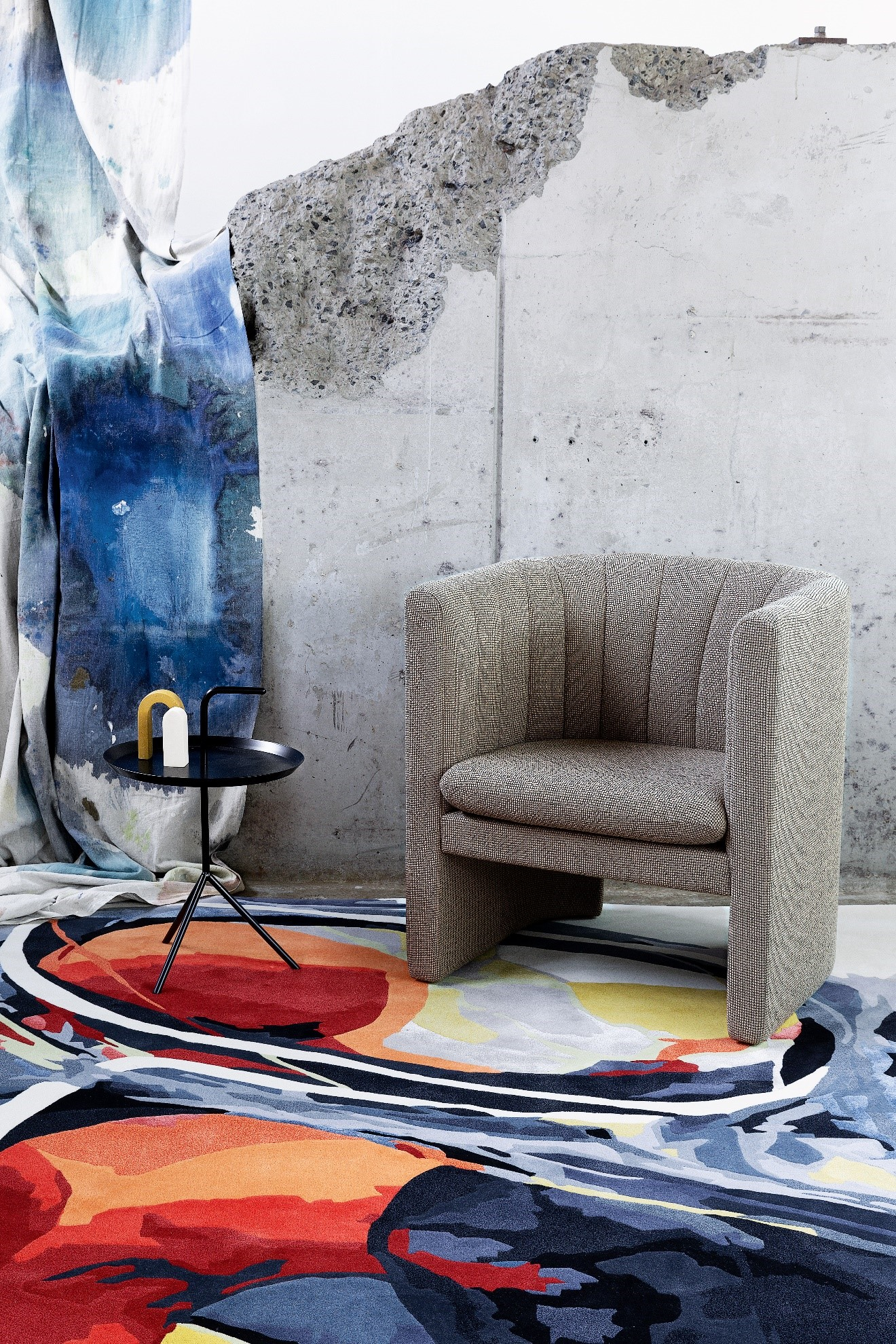 Designer Rugs Rose To Challenge, Creating A New Collection Of Three Hand Tufted Rugs