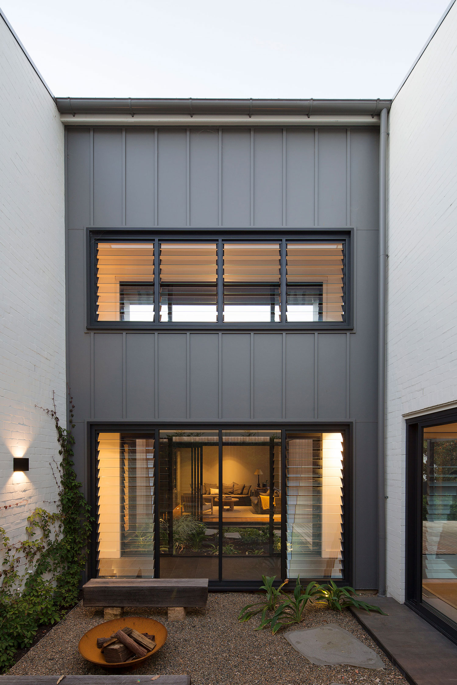 The Design Team Wanted To Ensure That The Houseu0027s Presence Was Modest And  Sympathetic To The Surrounding Older Residential Forms.