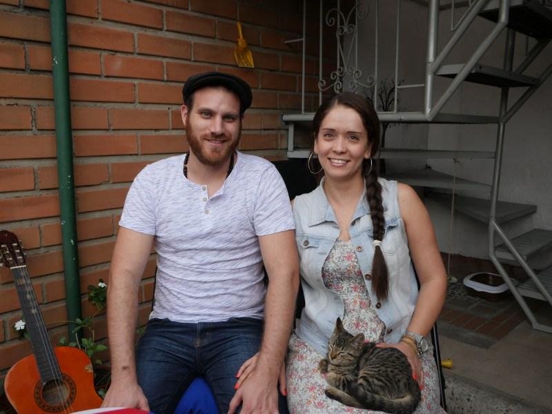 Raphael et Patricia créateurs de Passion Colombia