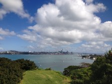 Auckland from the top of North Head