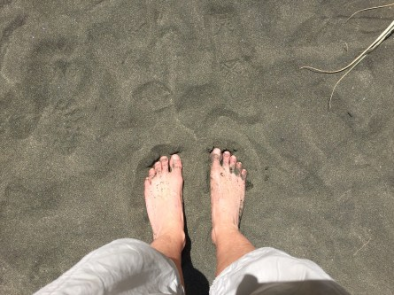 There's nothing like wriggling toes in warm sand