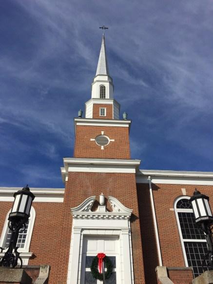 One of many many many Baptist churches