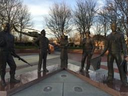 The Veterans Memorial