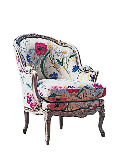 Makeover Giving a Bergere Chair a New Look  The Local Vault
