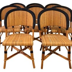 Paris Bistro Chairs Outdoor Steelcase Amia Chair Recall Drucker Parisian Set Of 8 The Local Vault