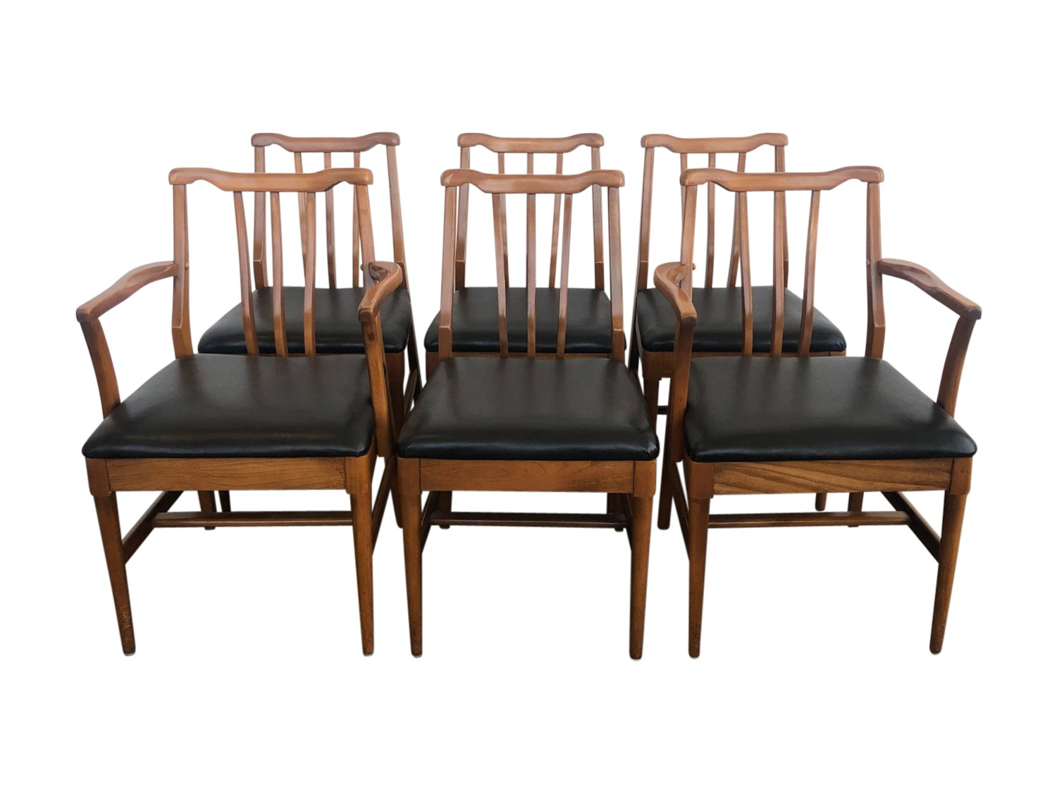 Dining Chair Set Of 6 Broyhill Mid Century Dining Chairs Set Of 6