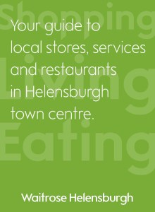Town centre link - the leaflet is available in Waitrose