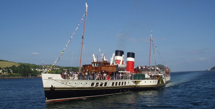 Full steam into summer - PS Waverley