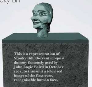 'Stooky Bill' will be on one of the plinths