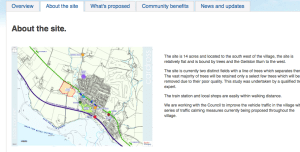 Jumping the gun? Taylor Wimpey's website