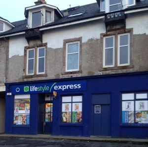 An 'outreach service' was due to be offered at the village store
