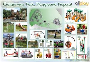 How it could look - the plans for Craigrownie Park (click to enlarge).