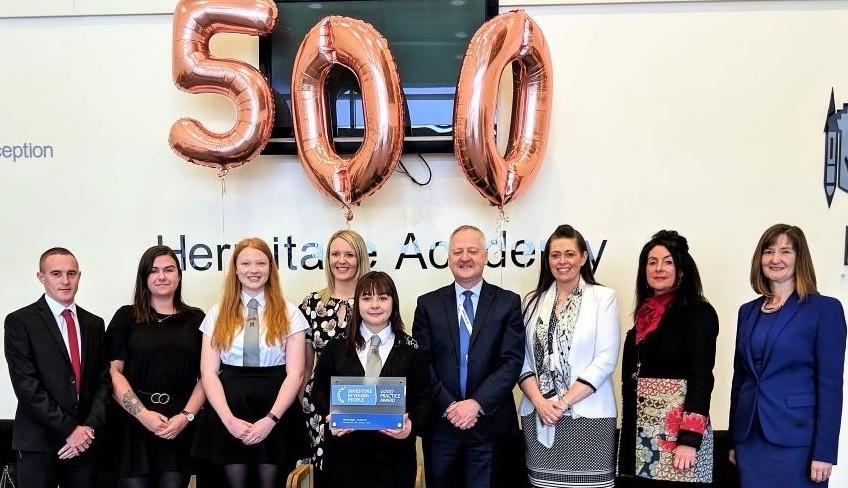 Hermitage Academy team 'inspiring role models' - The Lochside Press
