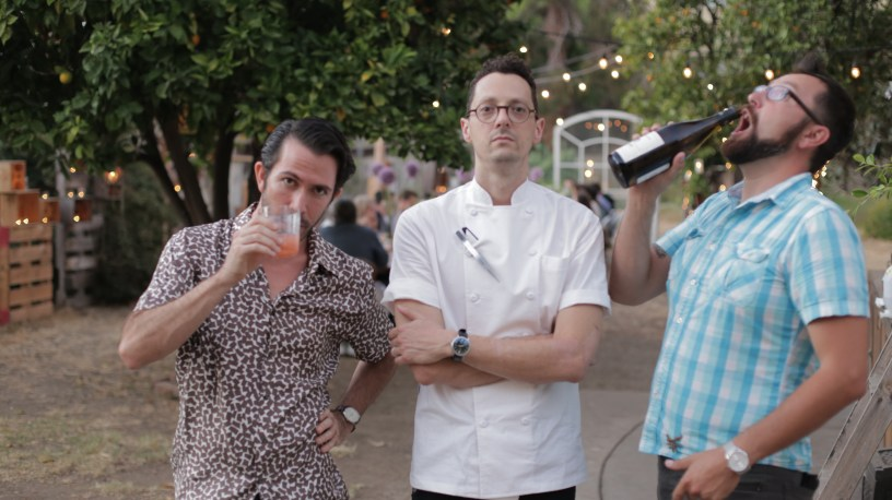 Carlo, Chef Jesse Barber and Nathaniel