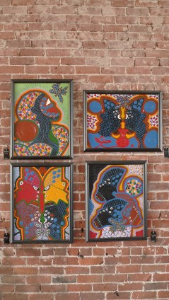 Butterfly #1 #2 (top) #3 #4 (bottom) by Shamala Bennu Auset