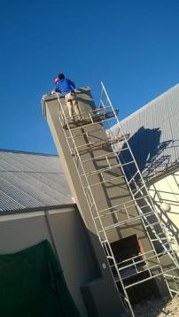 Current job in progress in Langebaan