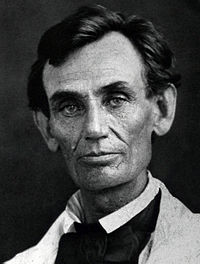 Abraham Lincoln in 1858 Photo