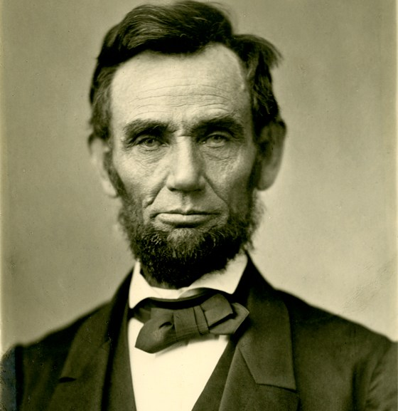 1863 Photo of Abraham Lincoln before Gettysburg