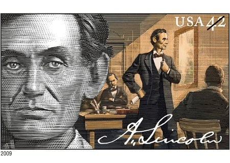 Lincoln Lawyer Stamp 2009