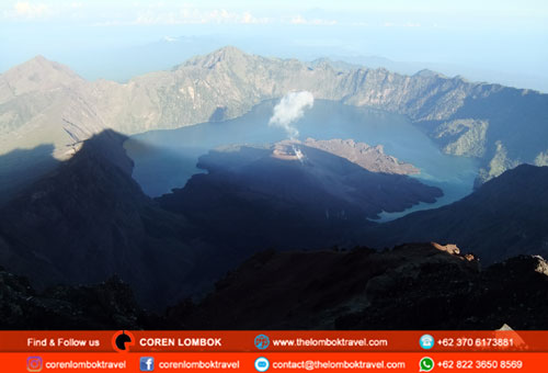 3 Days 2 Nights Rinjani Lombok Trekking Package