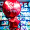 get well personalised balloon