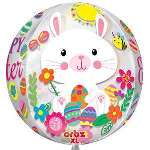 orb easter happy easter message balloon