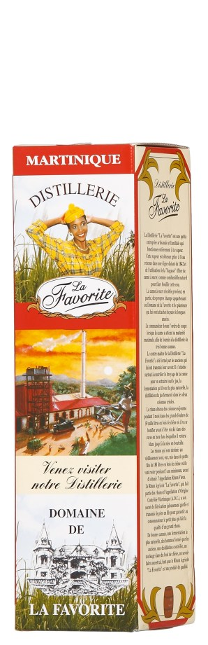 La Favorite 1990 - box