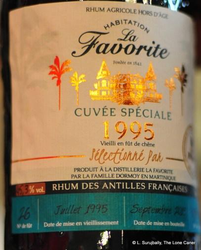 La Favorite Cuvee 1995 - 2