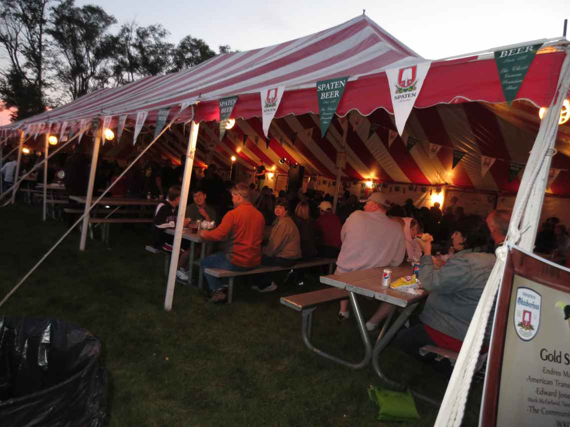 Wauktoberfest Beer Tent