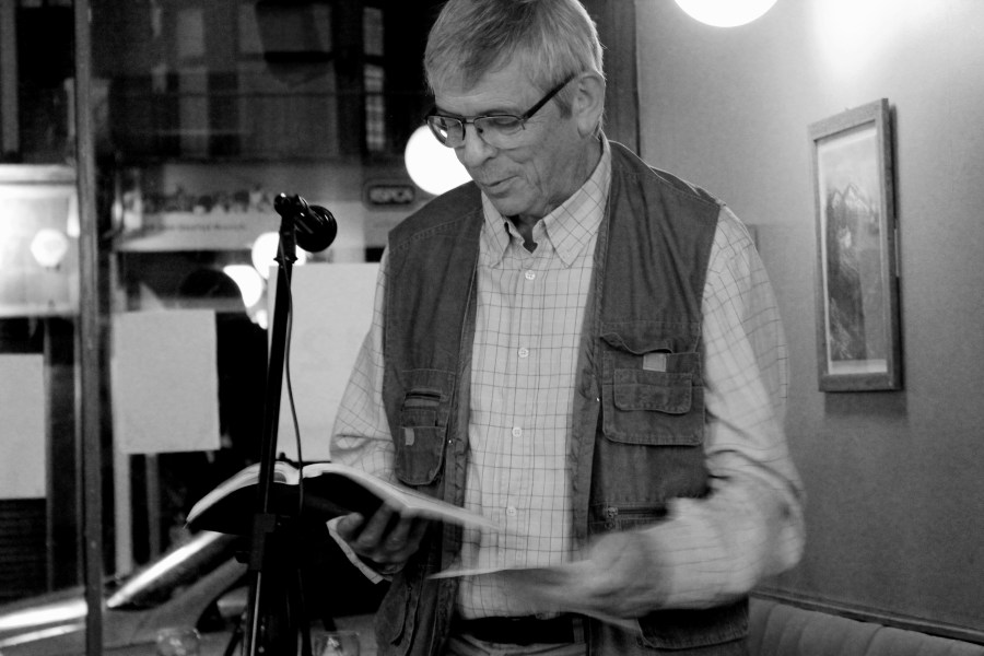 John Freeman reading his tribute to Dannie Abse, and also his three poems from Issue Two of The Lonely Crowd.
