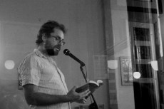 Mark Blayney reading 'The Deep Roll of the Sea' from Issue Two of The Lonely Crowd at our recent event at The Coffi House in Cardiff.