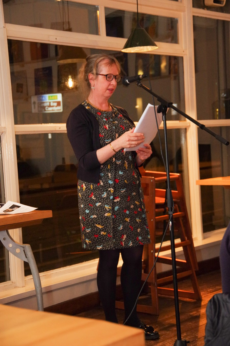 Kate Hamer reading a brand new story, which is to be featured in our forthcoming Spring issue