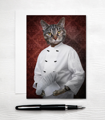 Chef Cat Card