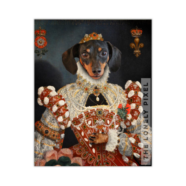 Queen Pet Portrait