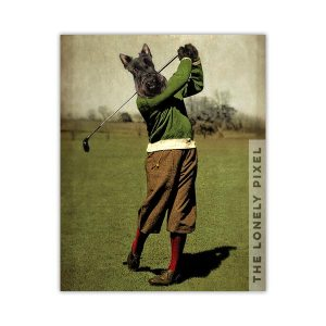 Golf Scottie Dog