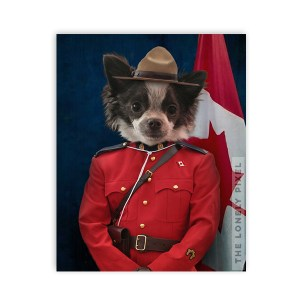 Mountie Portrait