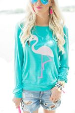 Flamingo top