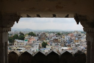 View from Udaipur City Palace