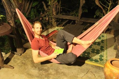 Jamie loves a good hammock