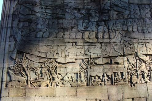 Carvings at Angkor