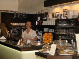 love the little coffee shops