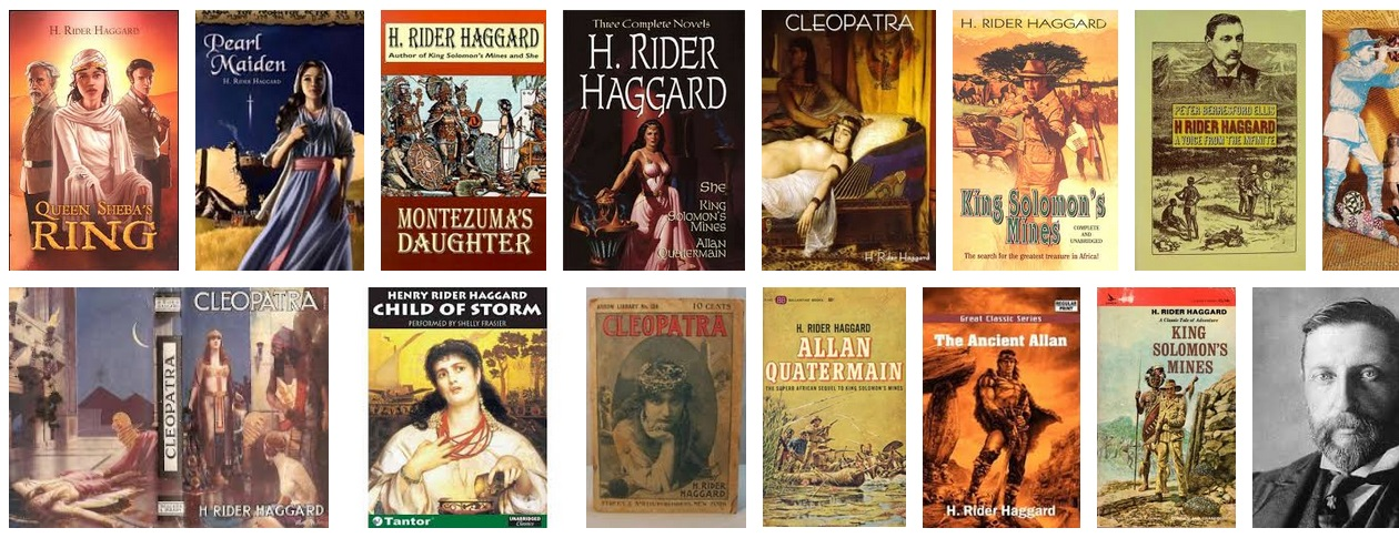 OTD d. H. Rider Haggard – 12 quotes & how to survive reading in the modern era