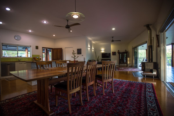 water views, river, canoeing, Luxury, privacy, seclusion, The Long Weekend retreat, al fresco dining, outdoor dining
