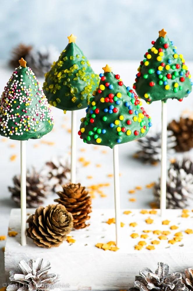 How Tree Make Cake Christmas Pops