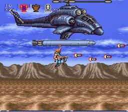 Contra III - The Alien Wars_homing