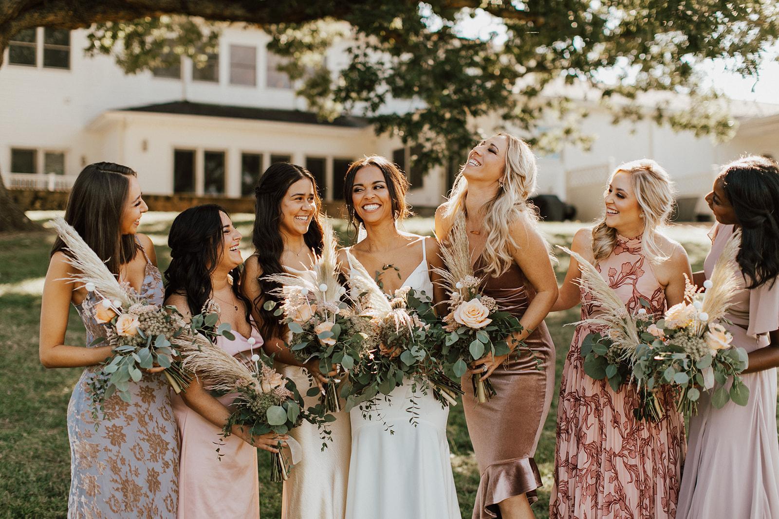 Boho wedding North Carolina Mountains