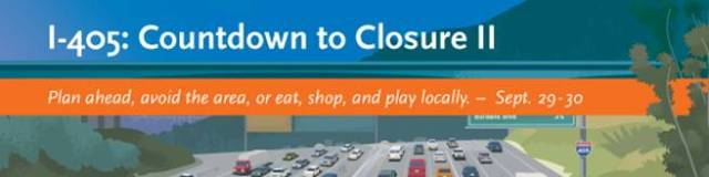 Interstate 405 Count Down to Closure II