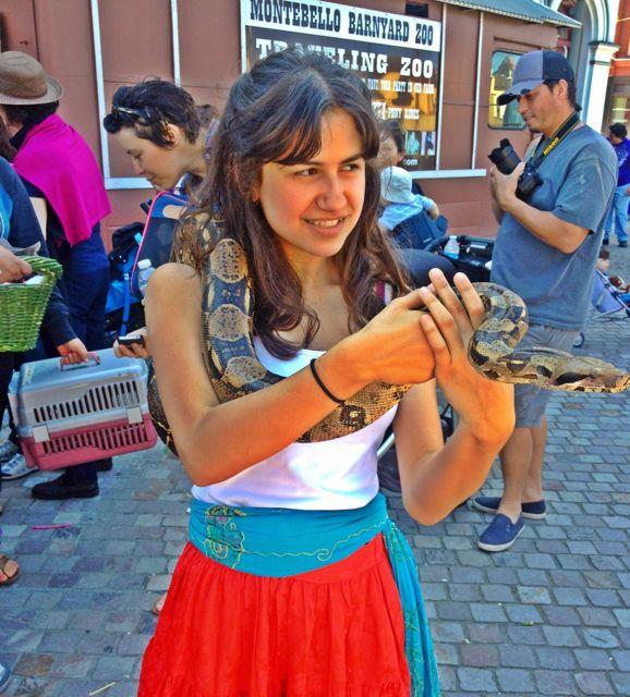 Even the Serpents Deserve a Blessing (Photo by Nikki Kreuzer)